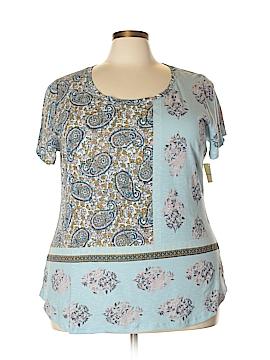 Lucky Brand Short Sleeve T-Shirt Size 3X (Plus)