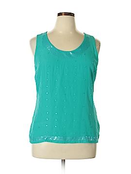 AK Anne Klein Sleeveless Blouse Size XL