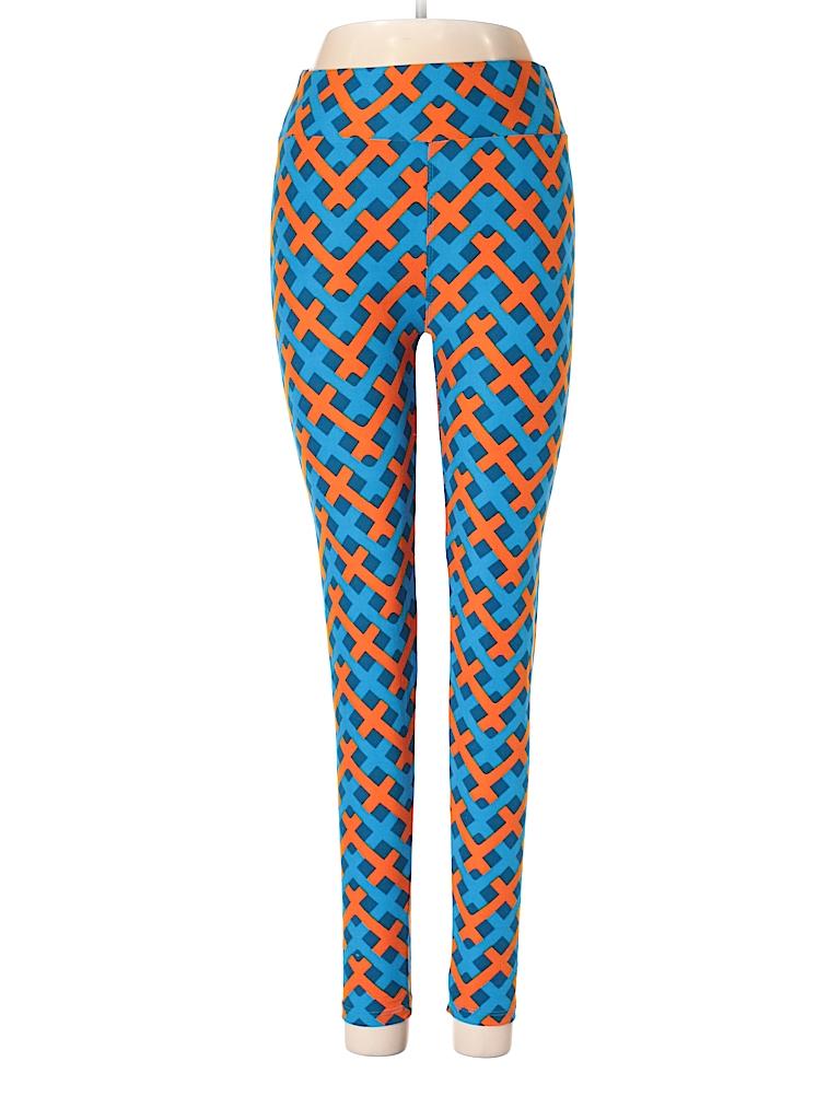 ad699b3ce6fe1c Lularoe Print Dark Blue Leggings One Size - 84% off | thredUP