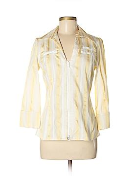 Cache Long Sleeve Blouse Size L