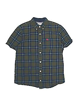 Abercrombie Short Sleeve Button-Down Shirt Size 14