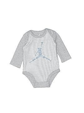 Jordan Long Sleeve Onesie Size 0-3 mo