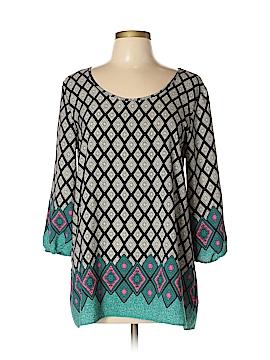 Moa Moa 3/4 Sleeve Blouse Size L