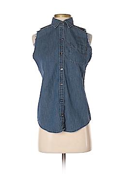 C. Wonder Sleeveless Button-Down Shirt Size XXS
