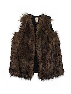 Truluv Faux Fur Vest Size 6X