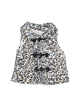 Little Lass Faux Fur Vest Size 2T
