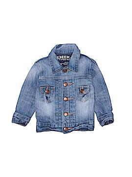 Peek Dungarees Denim Jacket Size 6-12 mo