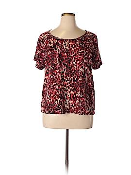 B.l.e.u. Short Sleeve T-Shirt Size 1X (Plus)