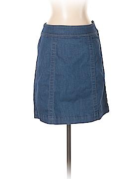 Ann Taylor LOFT Denim Skirt 26 Waist (Petite)