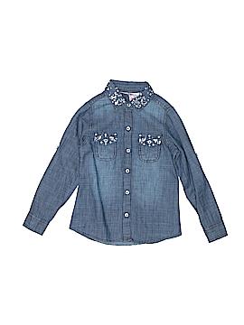 Japna Kids Long Sleeve Button-Down Shirt Size 5 - 6
