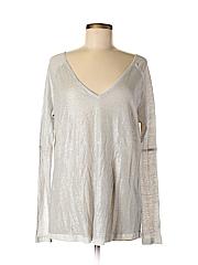 HEATHER Women Long Sleeve Blouse Size S