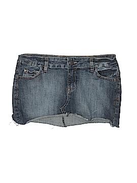 Anchor Blue Denim Skirt Size 5