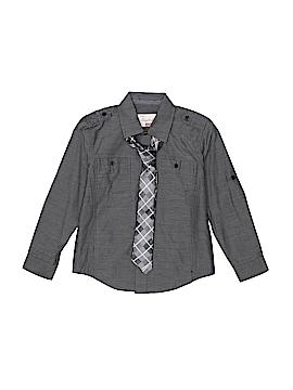 Sovereign Code Long Sleeve Button-Down Shirt Size 4
