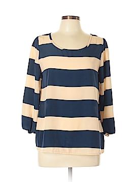 Peach Love Cream California 3/4 Sleeve Blouse Size M