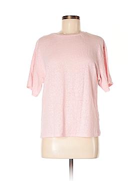 Topshop Short Sleeve T-Shirt Size Med - Lg Petite (Petite)
