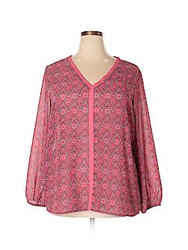 Avon Long Sleeve Blouse Size 1X (Plus)