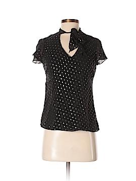 Dana Buchman Short Sleeve Silk Top Size 2 (Petite)
