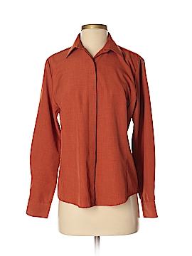 Doc & Amelia Long Sleeve Button-Down Shirt Size S