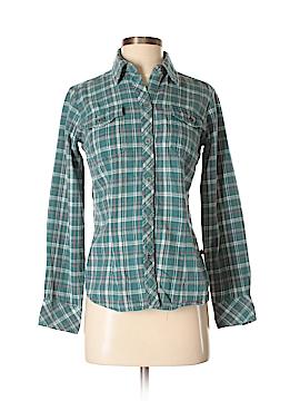 Dickies Long Sleeve Button-Down Shirt Size XS