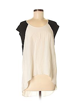 Mason Short Sleeve Silk Top Size P