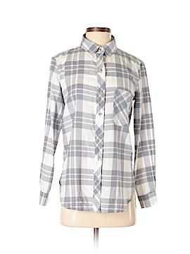 Athleta Long Sleeve Button-Down Shirt Size XS