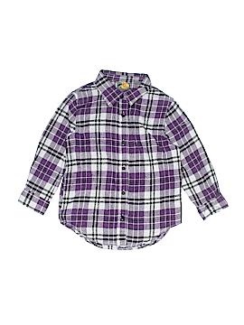 Bass Pro Shops Long Sleeve Button-Down Shirt Size S (Youth)