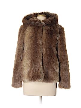Trafaluc by Zara Faux Fur Jacket Size M