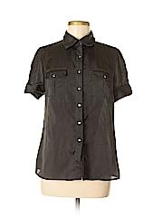 Adiva Women Short Sleeve Blouse Size M