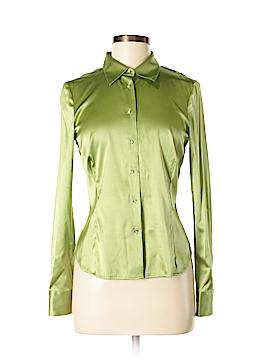 Boden Long Sleeve Silk Top Size 12