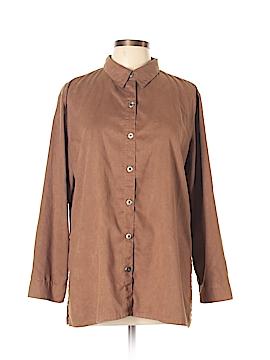Chico's Design Long Sleeve Blouse Size Lg (2)