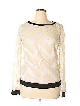 Sage Long Sleeve Blouse Size L