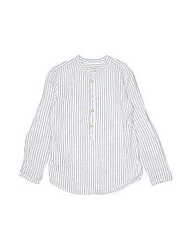 Mango Long Sleeve Button-Down Shirt Size 7 - 8