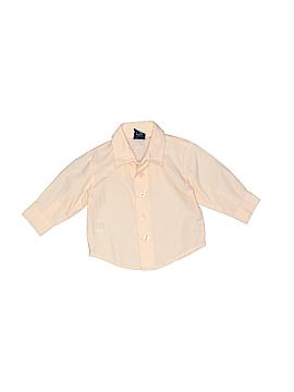 Dockers Long Sleeve Button-Down Shirt Size 3-6 mo