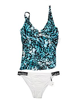 Calvin Klein Two Piece Swimsuit Size XL