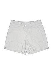 Essentials Women Khaki Shorts Size 6