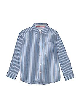 Greendog Long Sleeve Button-Down Shirt Size 6