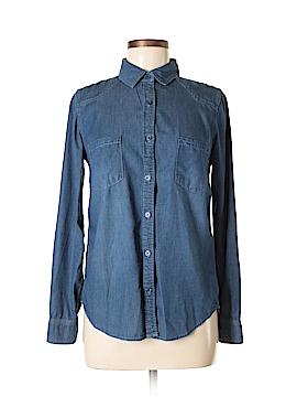Just Fab Long Sleeve Button-Down Shirt Size XS