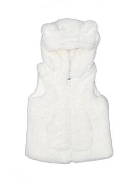 Me Jane Faux Fur Vest Size 6