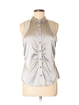 Cache Sleeveless Silk Top Size M