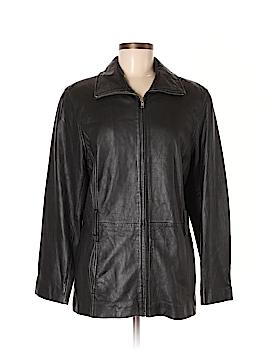 Preston & York Leather Jacket Size M