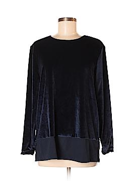 Sport Savvy Long Sleeve Button-Down Shirt Size M