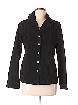 Jaclyn Smith Leather Jacket Size M