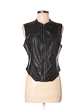Bebe Faux Leather Jacket Size M