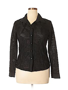 Claudia Richard Long Sleeve Blouse Size XL
