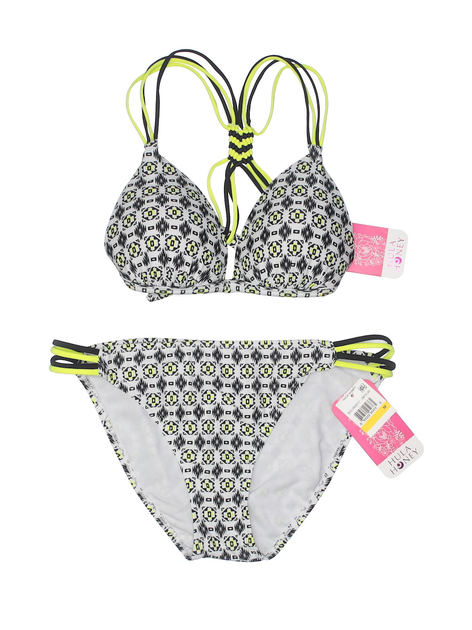 Hula Boutique Two Honey Piece Swimsuit dqfZqwx