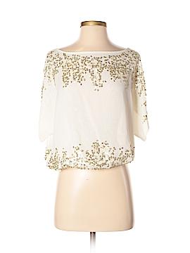 Cache Short Sleeve Blouse Size XS