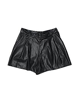 H&M Faux Leather Shorts Size 8