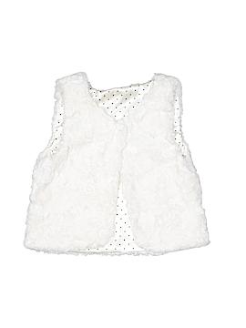 H&M Faux Fur Vest Size 6-7
