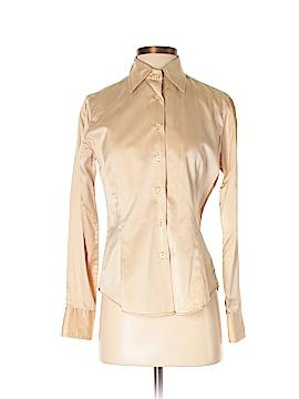 Roberta Freymann Long Sleeve Button-Down Shirt Size M
