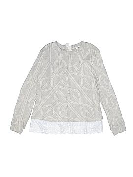 Monteau Girl Long Sleeve Top Size 14